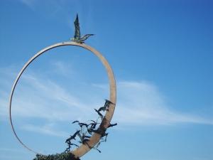 Statua of Seagull Jonathan - San Benedetto del Tronto
