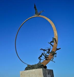Monumento Gabbiano Jonathan Livingston