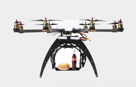 Servizio con drone